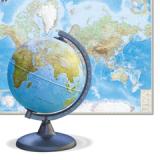 Глобусы, карты