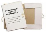 Папки для бумаг с завязками